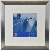Henzo Fotolijst - Luzern - Fotomaat 30x30 cm - Donker Grijs