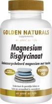 Golden Naturals Magnesium Bisglycinaat (180 tabletten)