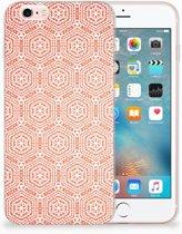 Apple iPhone 6 | 6s Uniek TPU Hoesje Pattern Orange