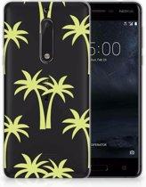Nokia 5 Uniek TPU Hoesje Palmtrees