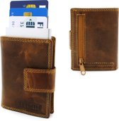 Figuretta card protector + leren portemonnee ( voor pasjes en biljetten) , in 2 uitvoeringen