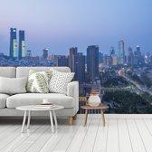 Fotobehang vinyl - De stad Nanchang in het Aziatische China breedte 360 cm x hoogte 270 cm - Foto print op behang (in 7 formaten beschikbaar)