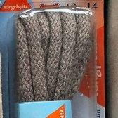 3 mm x 120cm Grijs - Rond Cord 100% katoen veter