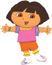 Dora the Explorer Folieballon