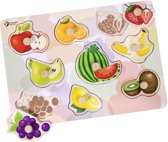 Classic World Noppenpuzzel Fruit, 8st. Afmeting artikel: 30 x 21 x 2,2 cm