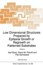Low Dimensional Structures Prepared by Epitaxial Growth or Regrowth on Patterned Substrates