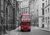 Papermoon London Bus Stop Vlies Fotobehang 350x260cm