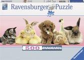 Ravensburger Dierenvrienden (panorama) - Legpuzzel