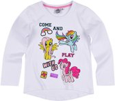 My-Little-Pony-T-shirt-met-lange-mouw-wit-maat-116