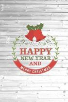 Happy New Year and Merry Christmas - Jingle Bells Journal