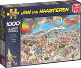 Jan van Haasteren Op Het Strand - Puzzel 1000 stukjes