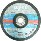 KWB Cut-Fix Afbraamschijf - Metaal - Ø 178 x 6 x 22 mm