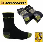 Dunlop Werksokken Maat 43 - 46 (3 Paar)