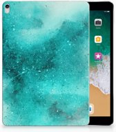 Apple iPad Pro 10.5 Uniek Tablethoesje Painting Blue
