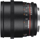 Samyang 85mm T1.5 VDSLR II - voor micro four thirds
