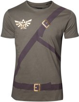 ZELDA - T-Shirt Link's shirt with printed straps (XXL)