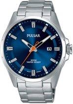 Pulsar PS9505X1 horloge heren - zilver - edelstaal