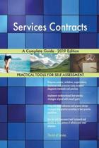 Services Contracts a Complete Guide - 2019 Edition