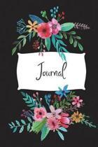 Dot Grid Journal Flower Bouquet