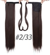 Ponytail extensions - brown