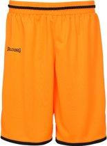 Spalding Move Basketbalshort heren Basketbalbroek - Maat L  - Mannen - oranje/zwart