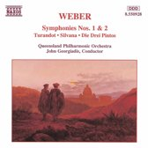 Weber: Symphonies no 1 & 2, etc / Georgiadis