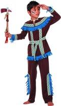 Indiaan Kostuum   Blauwe Kraai Indiaan Tenderfoot (Jongen) Kostuum   Maat 128   Carnaval kostuum   Verkleedkleding