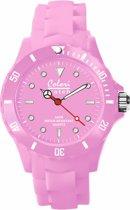 Colori Classic 5 COL137 Horloge - Siliconen Band - Ø 40 mm - Roze