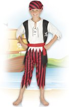 Kinderkostuum Piraat Jack - 10-12 Jaar
