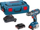Bosch Professional GSR 18-2-LI Plus Accuboormachine - 18 V - Met 2 x 2,0 Ah accu's, snellader en L-BOXX