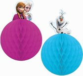 Set 2 Frozen™ decoraties - Feestdecoratievoorwerp