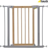 Hauck Deluxe Wood and Metal Safety Gate - Traphekje (75 - 81 cm) - Wood/Silver