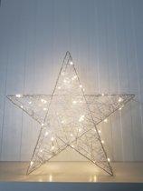 Led Kerst Ster 50 cm, 3D ster met 50 Leds