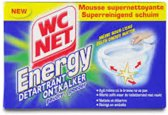 WC net - Energy ontkalker poeder wc - 6 x 60 gram