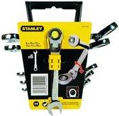 Stanley Ring/Steeksleutelset Met Verstelbare Ratelring