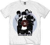 The Who - Maximum R&B heren unisex T-shirt wit - XXL