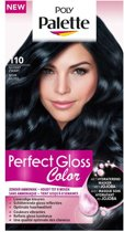 Poly Palette Perfect Gloss 110 Glossy Zwart - 1 stuk - Haarverf