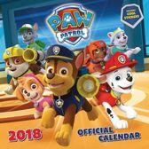 Paw Patrol Official Kalender 2018 met stickers