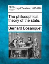 The Philosophical Theory of the State.