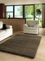 (Tijdelijke korting!) Hoogpolig Shaggy Plus Karpet - 60X110 - MIX BRUIN