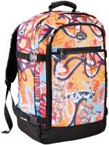 22551cfa3b5 CABINMAX Metz Graffiti ultralicht - 44 litre interior - 55x40x20cm -  handbagage Rugzak - perfect for