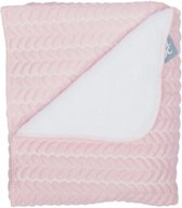 Baby Anne-Cy Wiegdeken Butterfly Old Pink 80 x 100 cm