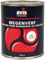 Avis Wegenverf - 1 l - Wit