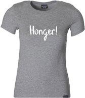 Honger T-shirt girl grijs 122-128