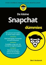 De kleine Snapchat voor Dummies