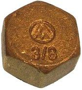 Moer plug female (draad: 3/8 ) 2 stuks (GS30290)