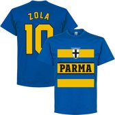 Parma Zola 10 Retro Stripe T-Shirt - Blauw - XXXL