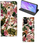 Samsung Galaxy S20 Plus Smart Cover Flowers
