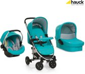 Hauck Miami 4 Trio Set - Kinderwagen - Petrol/Grey