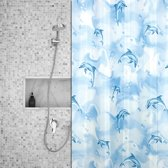 Roomture - douchegordijn - Dolphins - 120 x 200